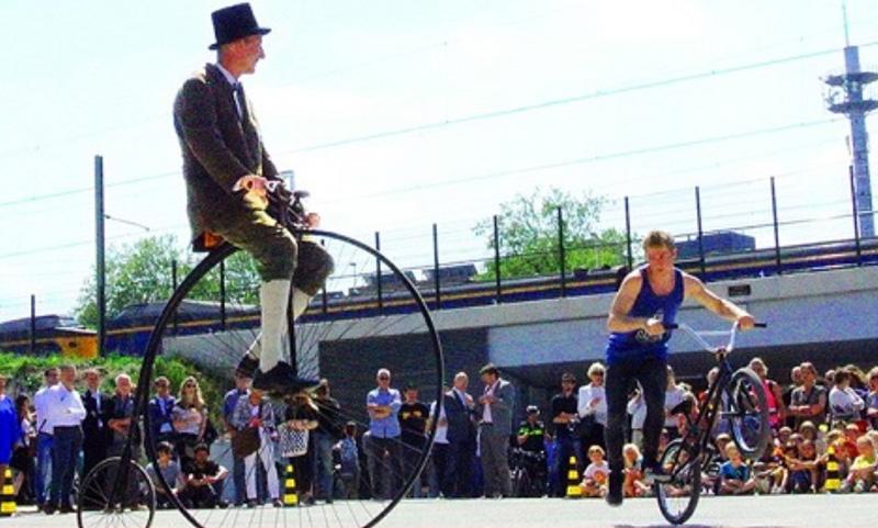 Tilburg Fietst Festival tegelijkertijd met de Smaakkaravaan