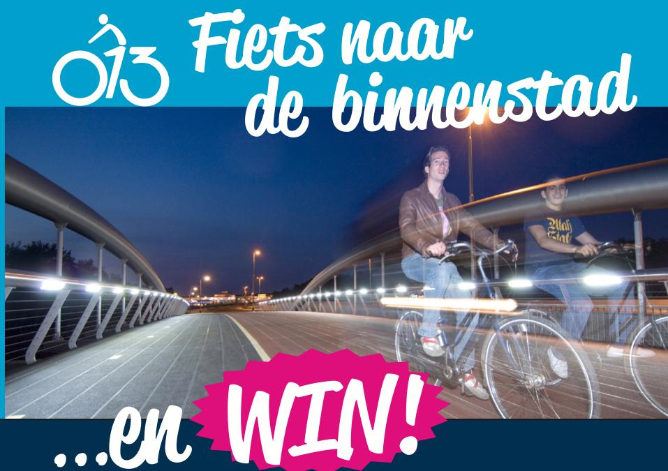 Kom op de fiets naar de binnenstad en win!