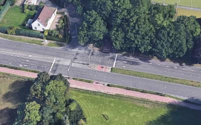 Vanaf 9 april werkzaamheden fietsoversteken Bredaseweg