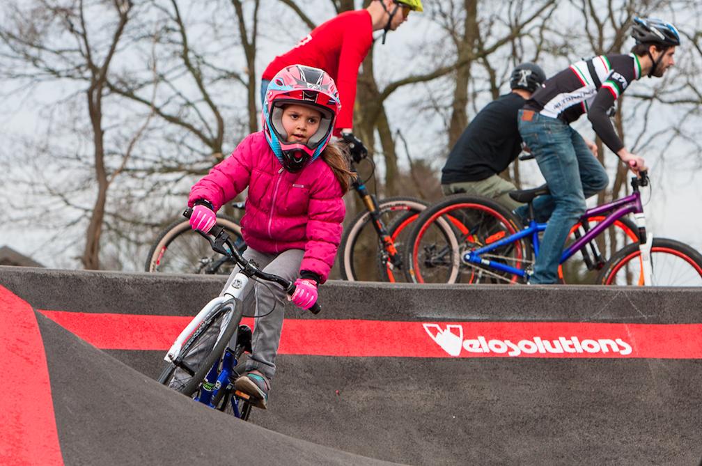 Spectaculaire nieuwe fietsbaan in Spoorpark