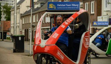 Verrassend fietstaxi-uitje voor 65-plussers