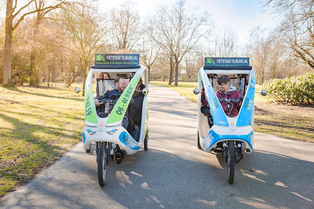 Tilburg Fietst voor fietsuitje ouderen