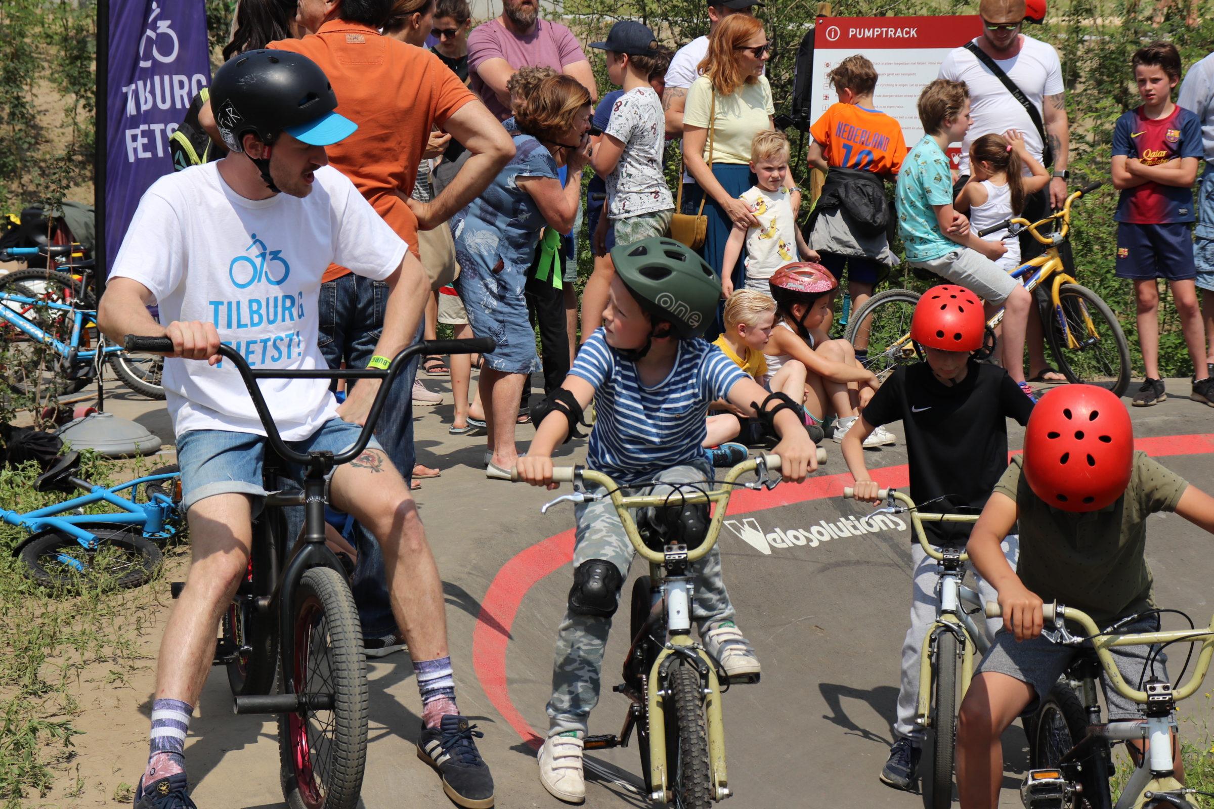 Mini clinic BMX Pumptrack Spoorpark