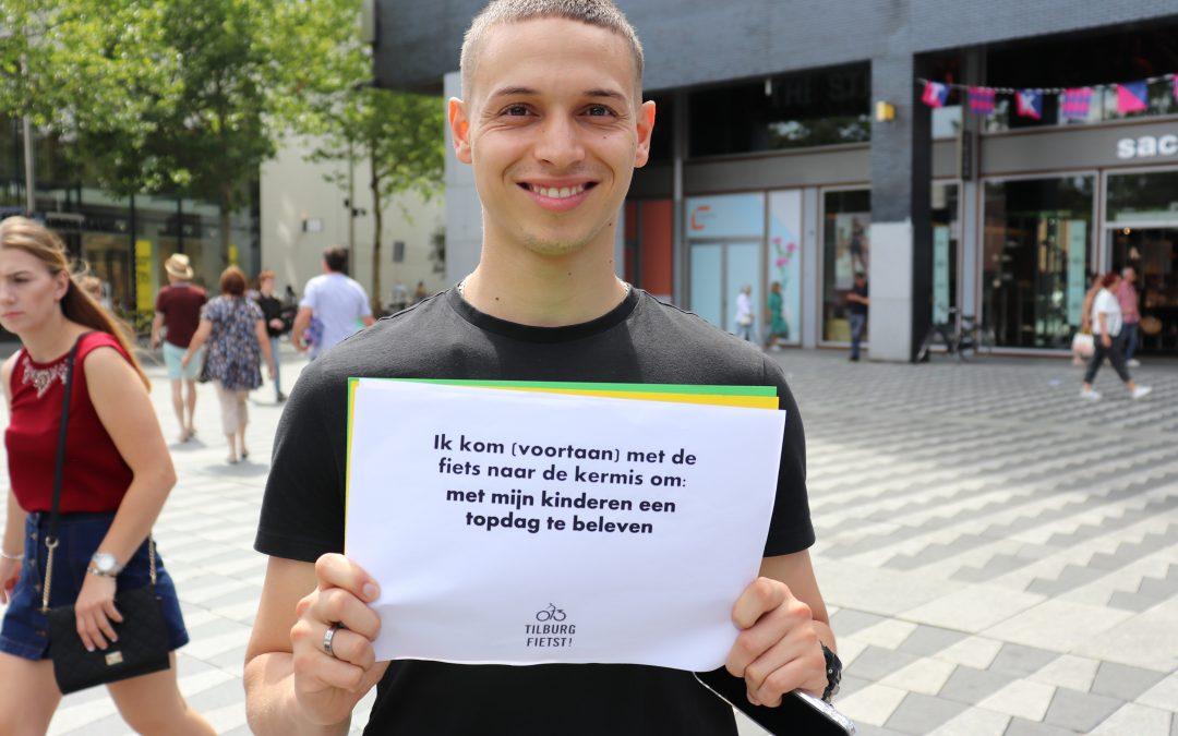 Tilburgers beloven op de fiets naar de kermis te komen
