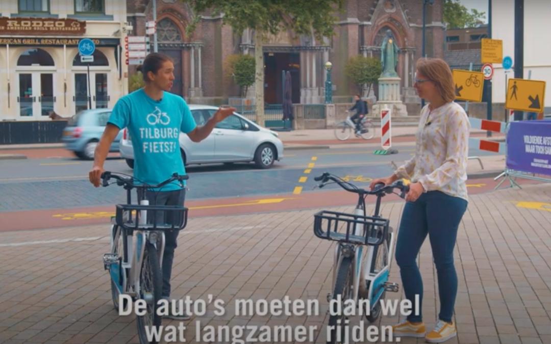 Uitleg corona verkeersmaatregelen voor fietsers en voetgangers