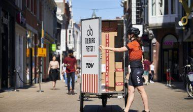 Tour de Ville biedt winkeliers duurzame en betaalbare bezorgmogelijkheid