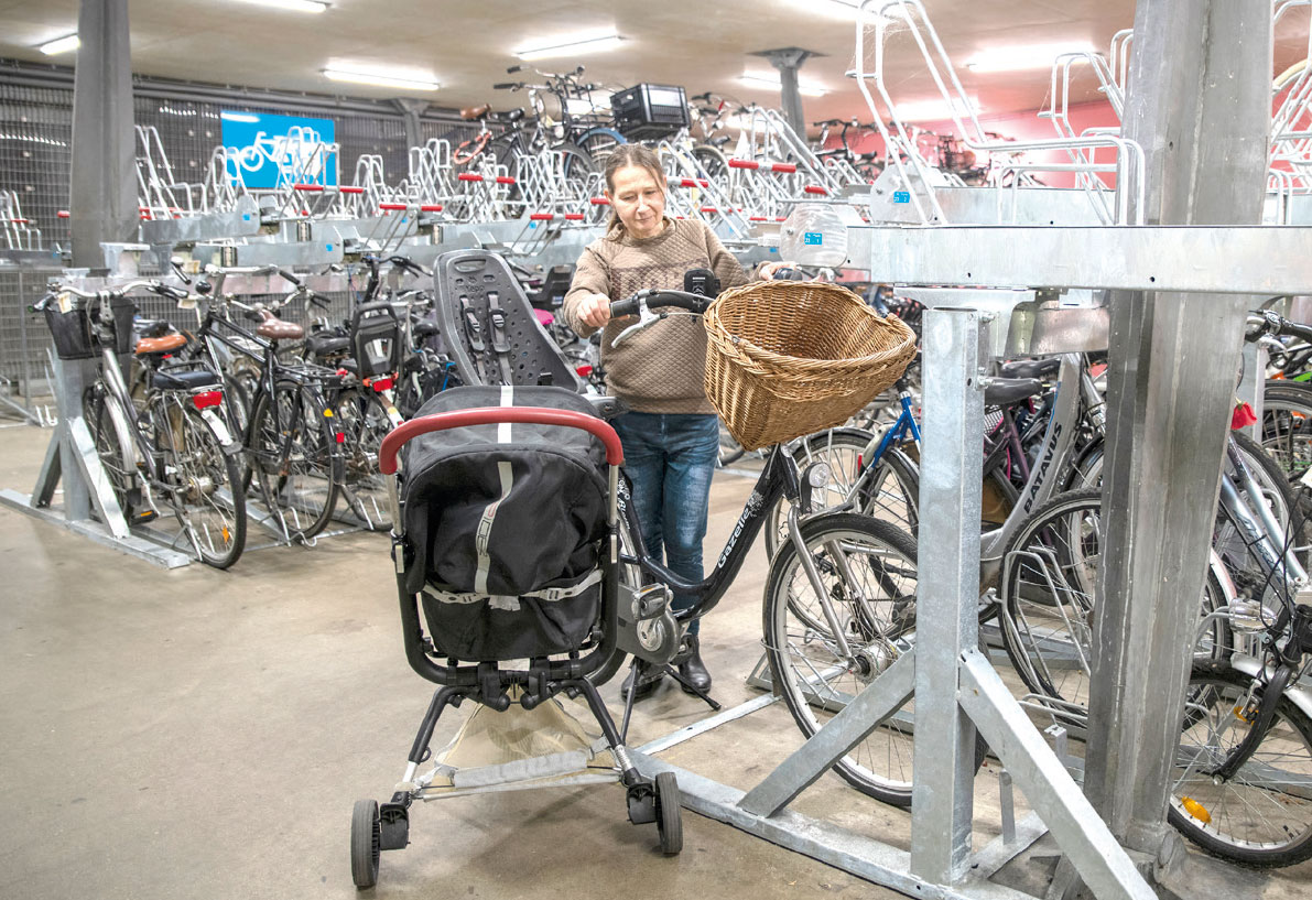 Gratis buggy lenen in fietsenstallingen Tilburg