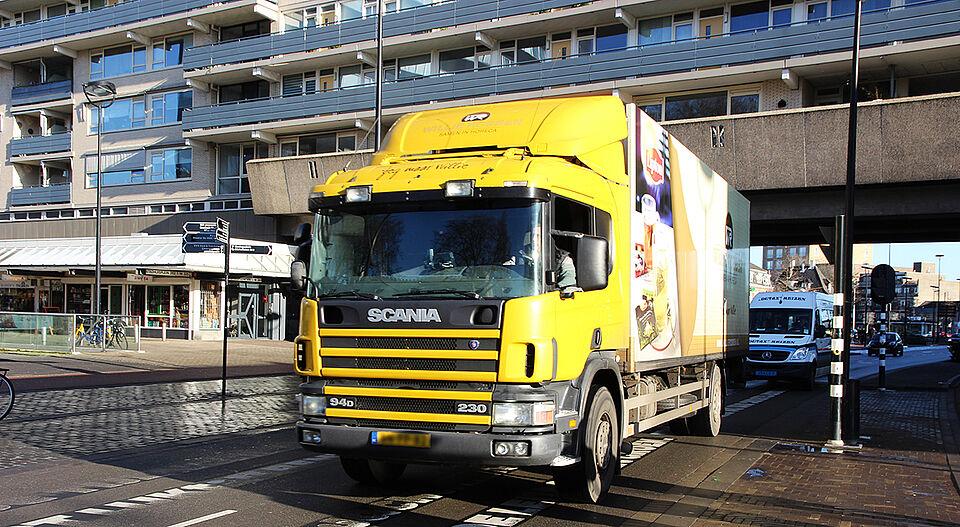 Vanaf 2025 alleen nog elektrisch vrachtverkeer binnen ringbanen Tilburg
