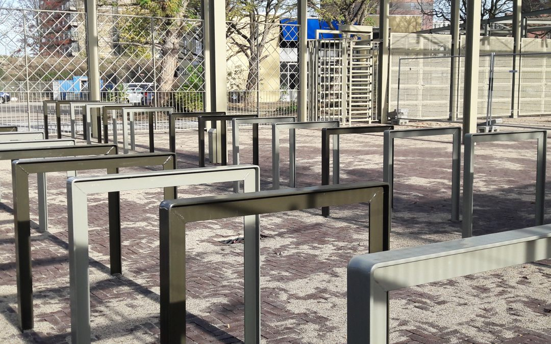 Spoorpark roept bezoekers op met de fiets te komen