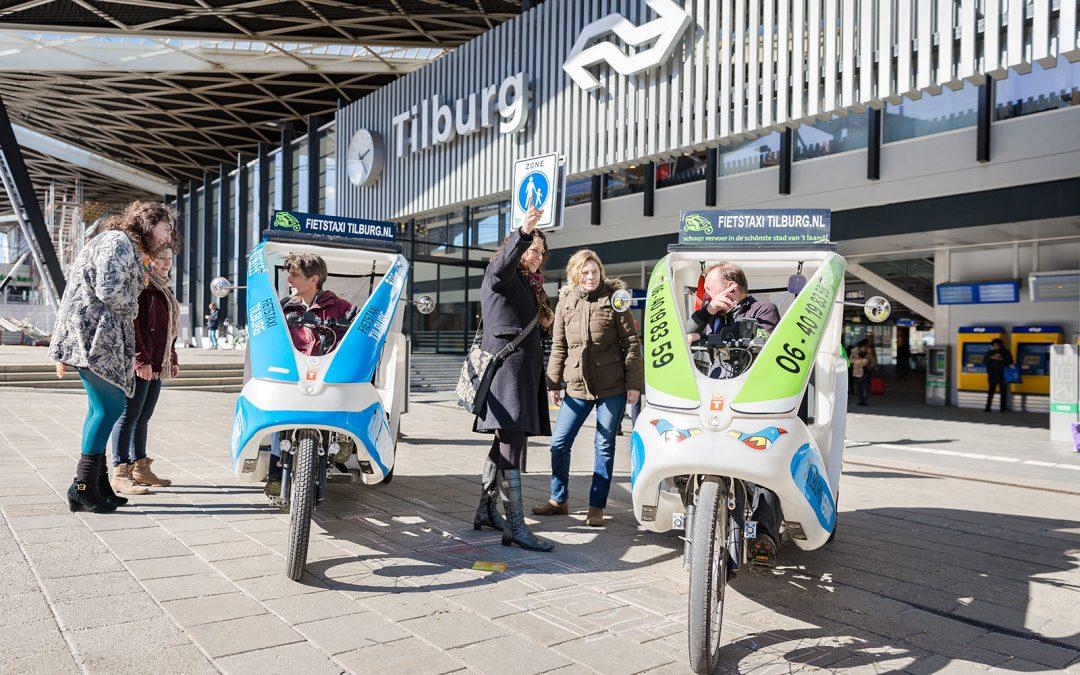 Gratis per fietstaxi naar de LocHal