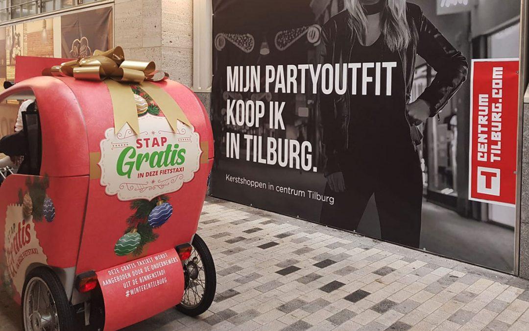 Gratis fietstaxi in december tijdens 'Winter in Tilburg'