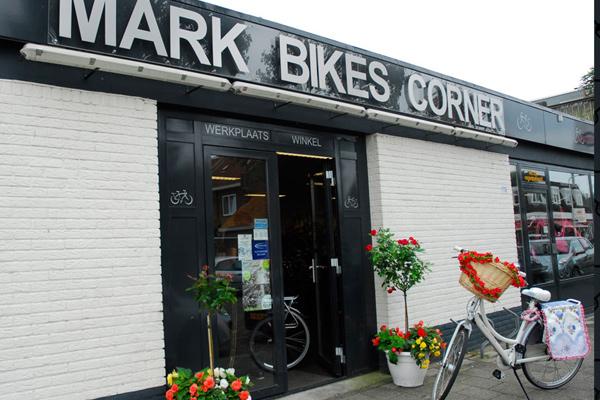 Mark Bikes Corner