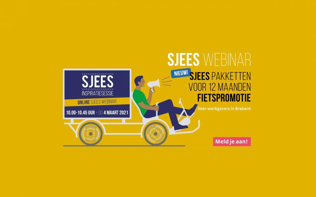 Introductie Sjees pakketten voor 12 maanden fietspromotie