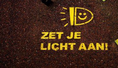 Zet je licht aan!