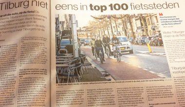 Tilburg wil imago als fietsstad opkrikken: 'Groene golf voor de fiets op cityring'