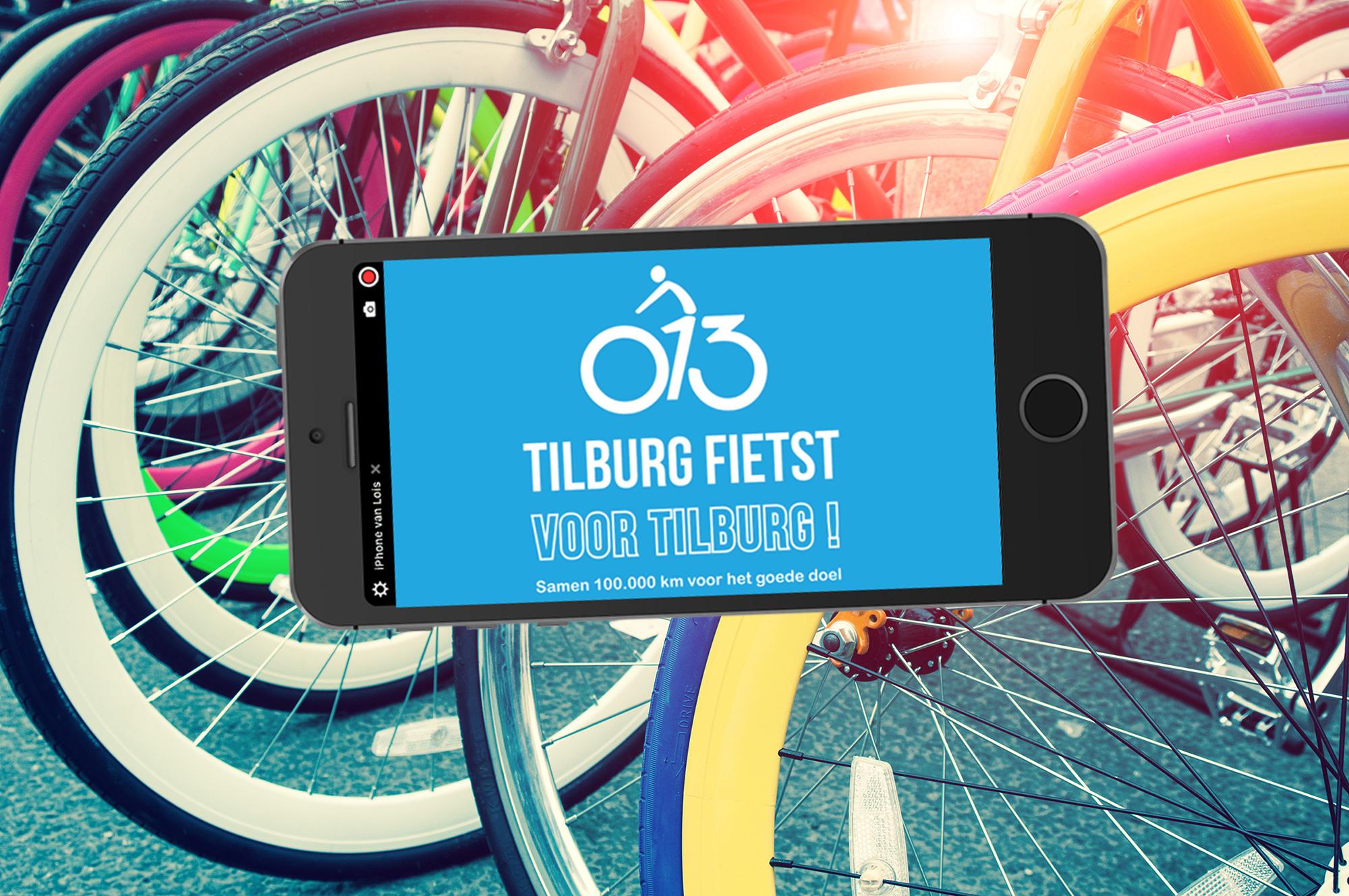 'Tilburg fietst voor Tilburg' van start